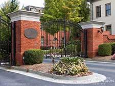 Alexandria gated townhouse community / Atlanta, Georgia (Buckhead)