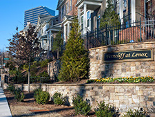 Ferncliff on Lenox townhouse community, Atlanta, Georgia 30324 (Buckhead). Photo by Jennifer Sherrouse.