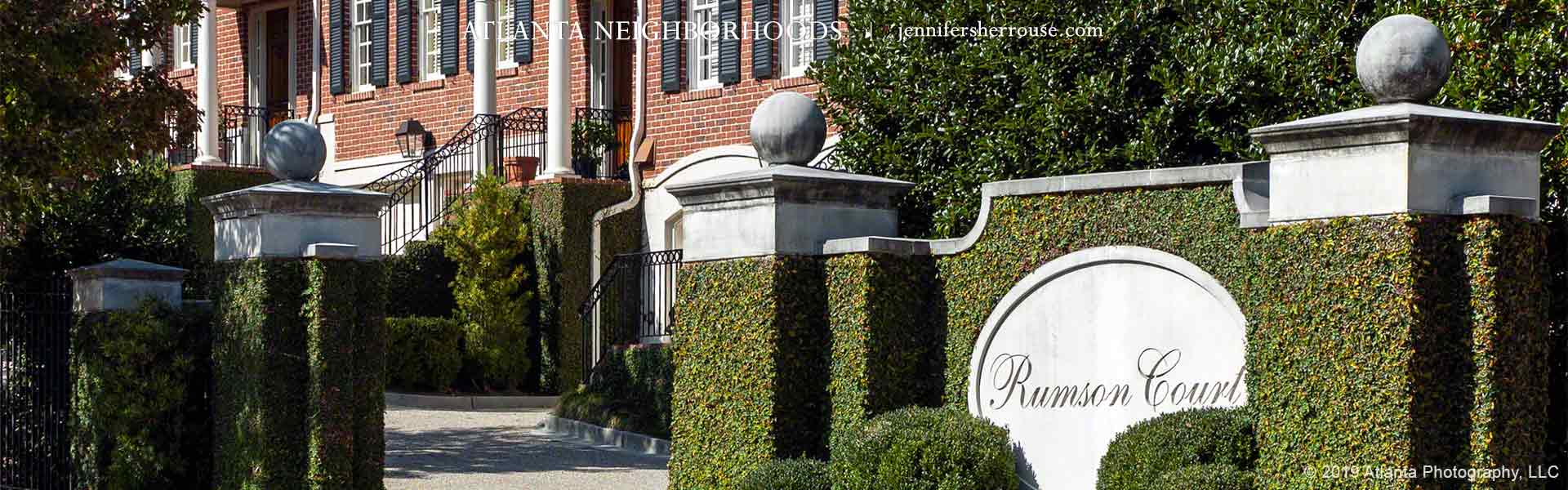 Rumson Court townhouses, Atlanta (Buckhead)